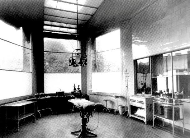 Soba za med. sestre u Gradskom dječjem ambulatoriju, 1931.